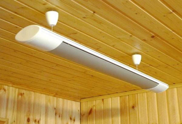 ИК обогревателя для потолка