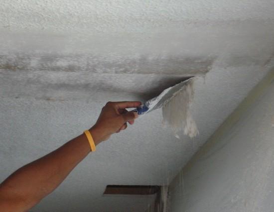 Побелка потолка подготовка