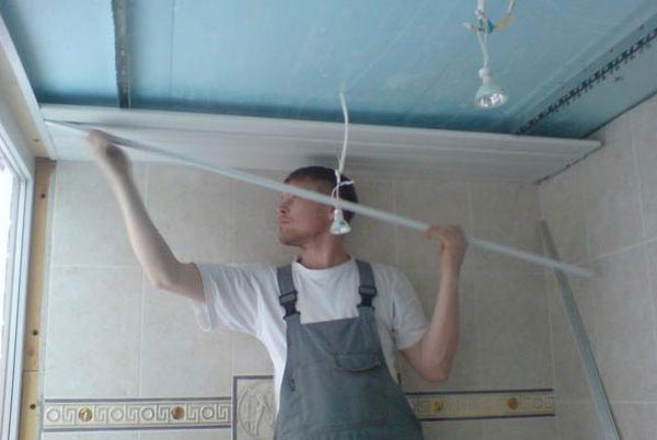 Что понадобится для отделки потолка