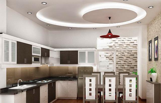 Советы по формированию потолков из гипсокартона для кухни