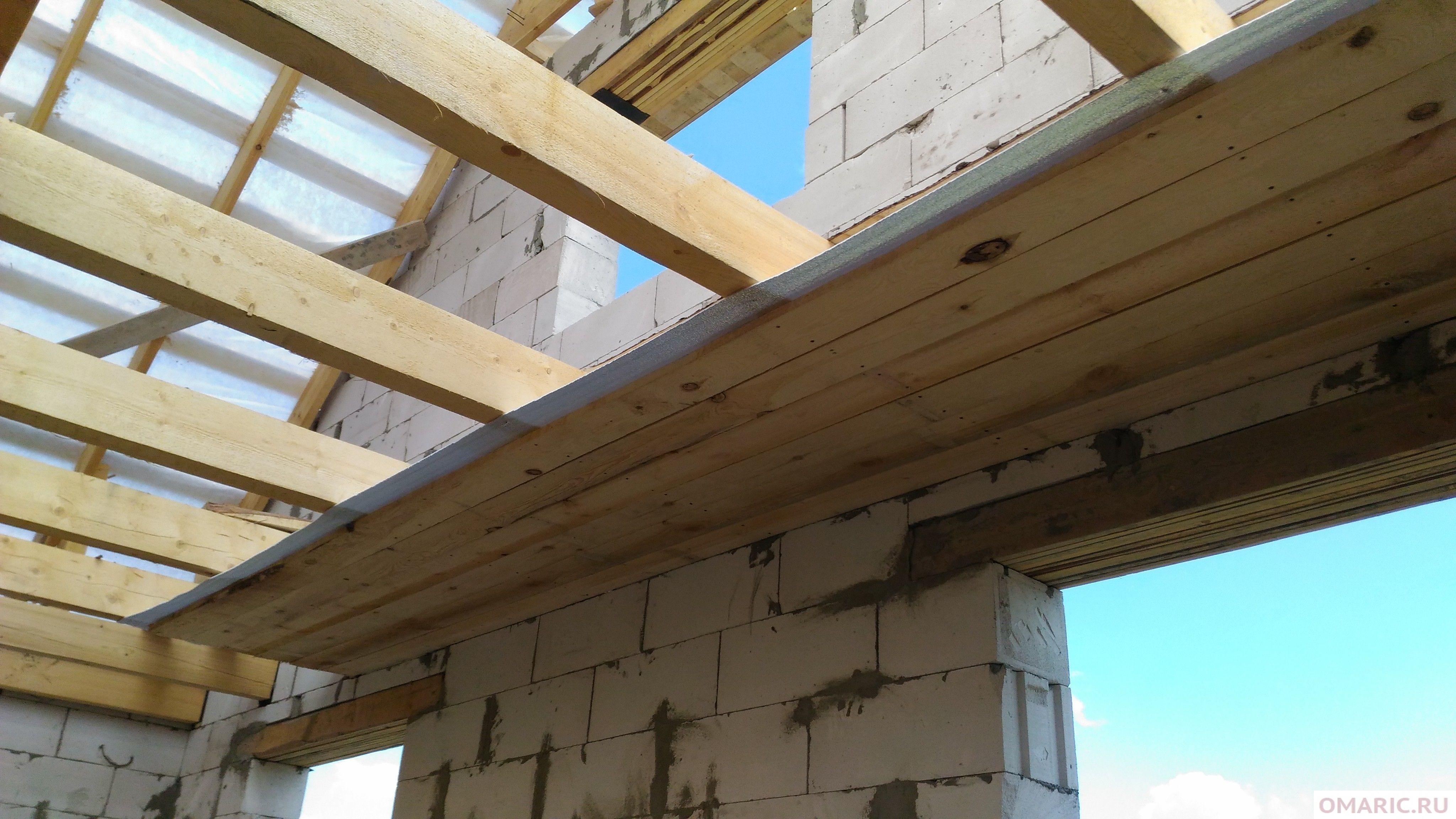 Устройство чернового потолка по деревянным балкам