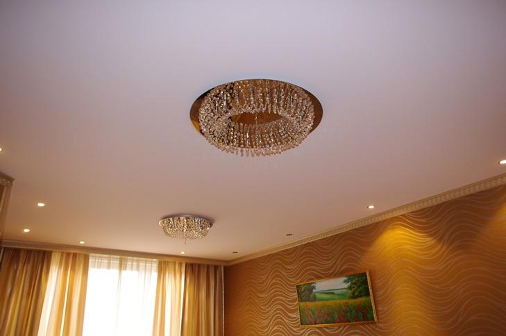 Тканевые натяжные потолки - за и против