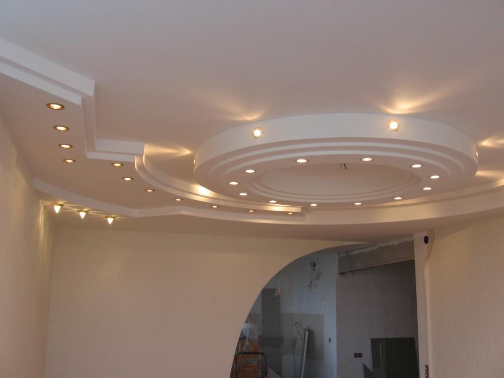 Потолок из гипсокартона. Поэтапная аннотация