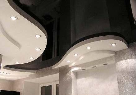 Эстетические характеристики чёрного потолка