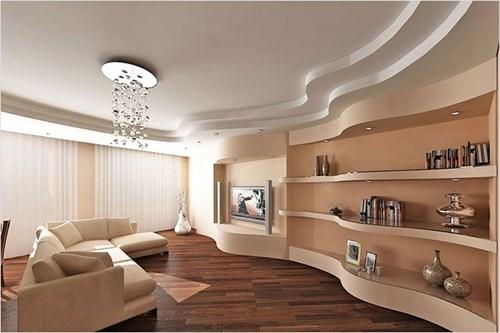 Гипсокартонные конструкции Многоуровневый потолок