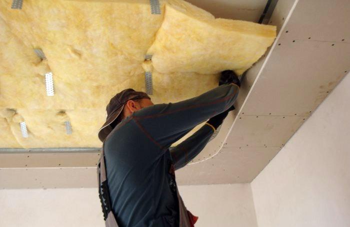 Методы шумоизоляции потолка