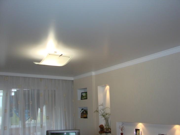 Особенности матового потолка