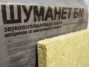 Шумоизоляция потолка Шуманет-БМ