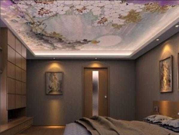3d потолкитканевые