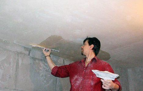 Как покрасить потолок своими руками: подготовка к работе