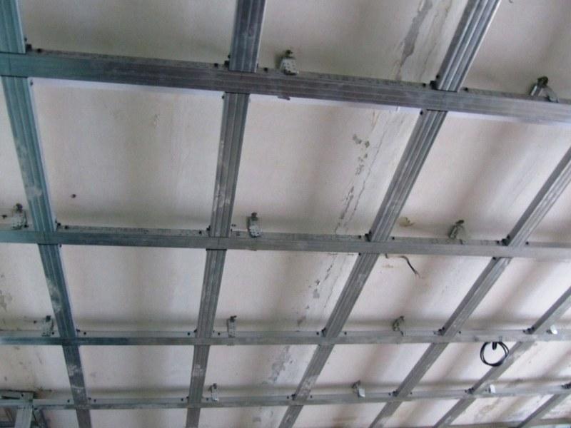 Каркас из профиля на потолок