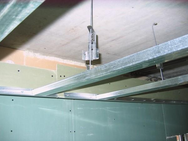 Как сделать навесной потолок из гипсокартона видео фото 218