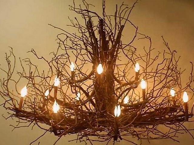 Люстры Дерево для натяжных потолков