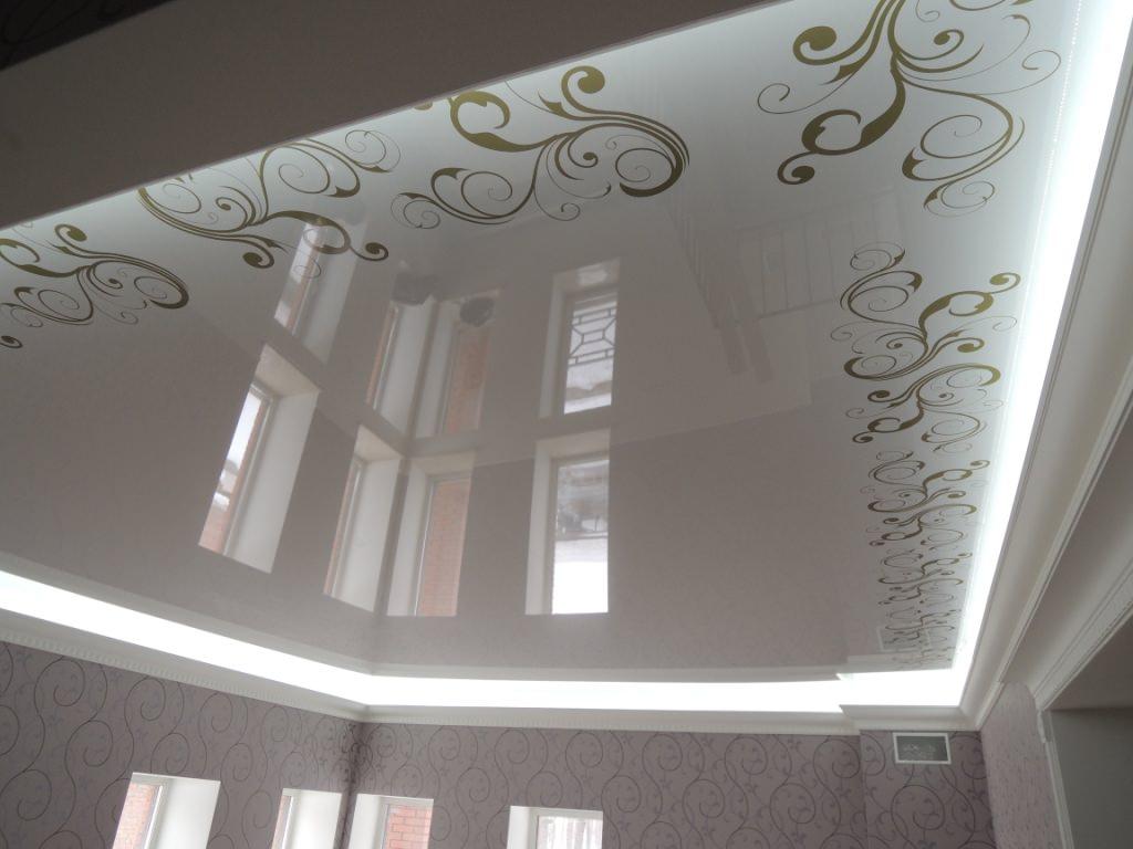 Минусы натяжных 3D потолков