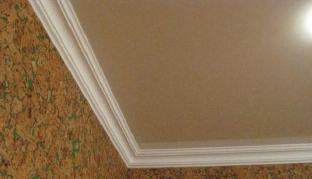 Пенопластовый багет к натяжным потолкам