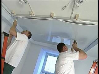 Понятие о конструкции натяжного потолка