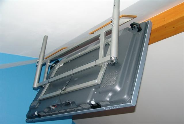Потолочный кронштейн для телевизора алюминевый