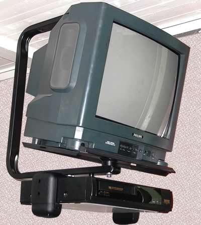 Потолочный кронштейн для телевизора с кинескопом