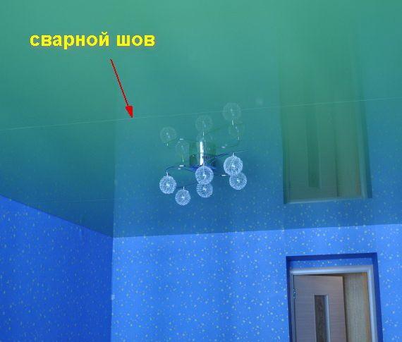 Тканевые или ПВХ натяжных потолков