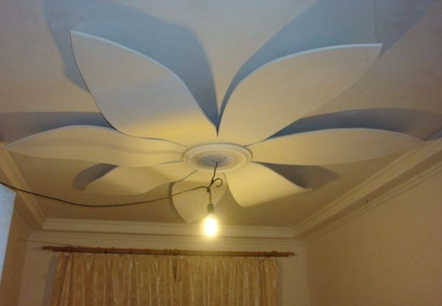 фигура из гипсокартона на потолке недостатки