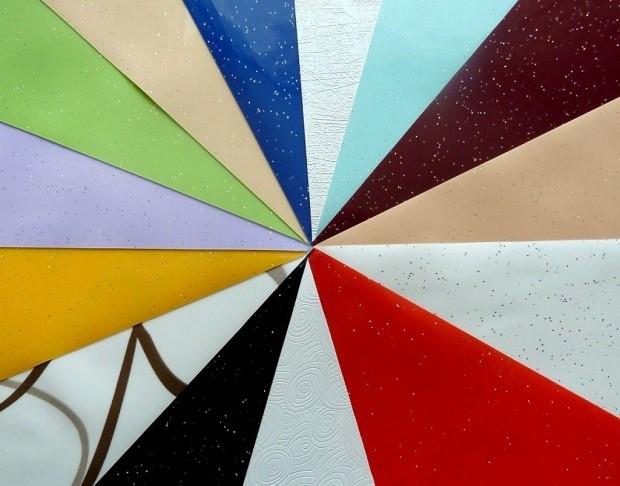 как выбрать натяжной потолок Цветовая палитра