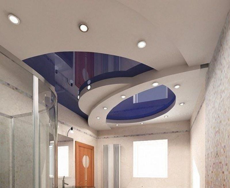 как выбрать натяжной потолок несколько уровней