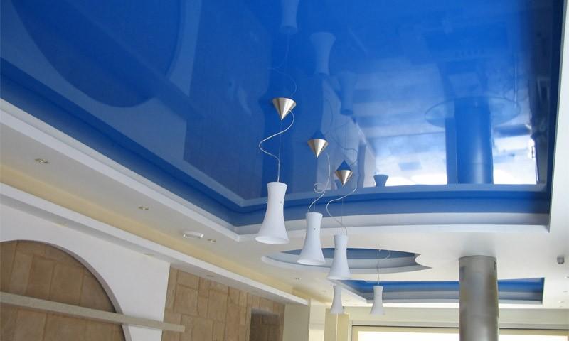 как выбрать натяжной потолок пленка