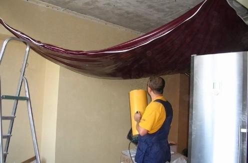 натяжные потолки 3D Самостоятельная установка