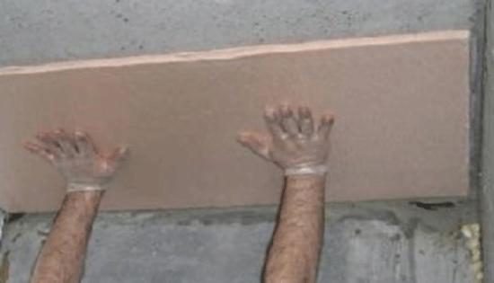 пенополистирол на потолок в подвале