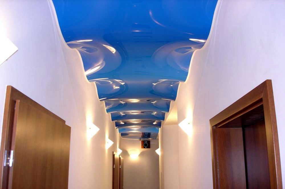 волны зд натяжные потолки