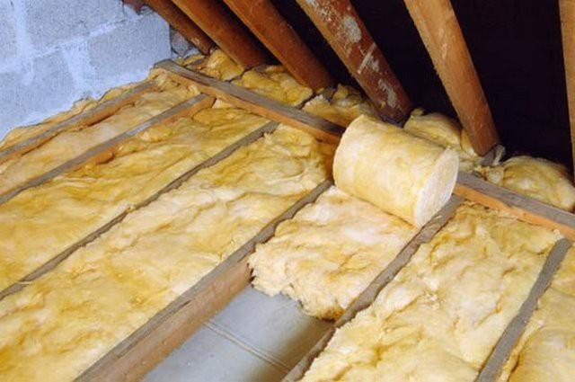 Баня потолок утепление