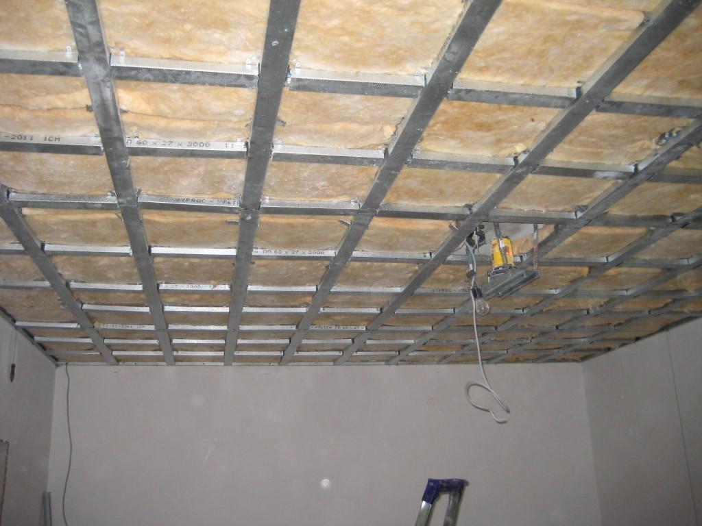 Монтаж с внутренней стороны помещения