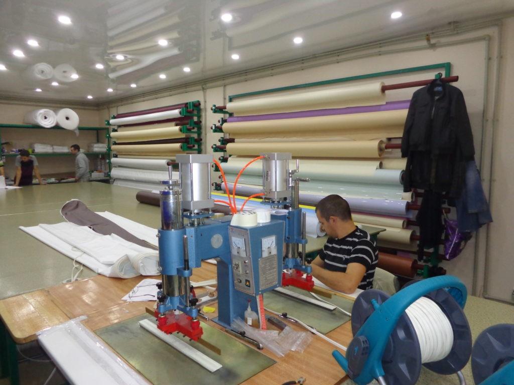 Натяжной потолок производство Россия
