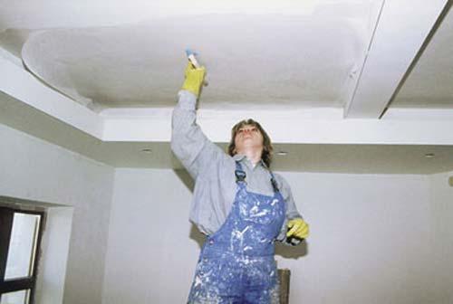 Подготовка к отделке гипсокартонных потолков