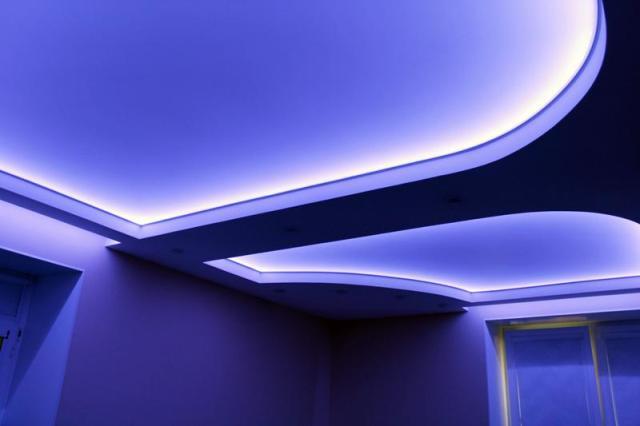 Подсветка потолка неоновые трубки