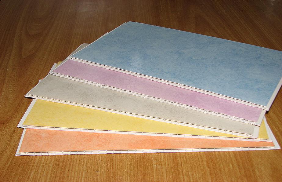Поливинилхлоридные потолочные плиты