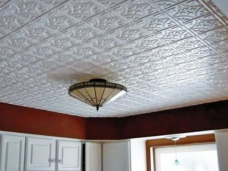 пенопластовых потолок фото из плиток