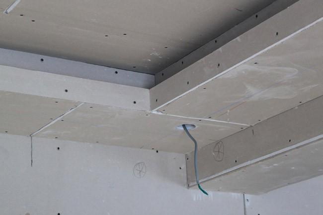 Потолок из гипесокартона