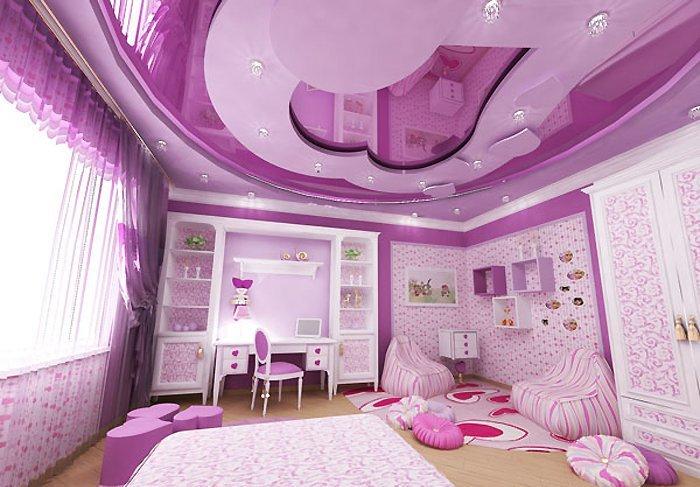 Потолок с фактурой