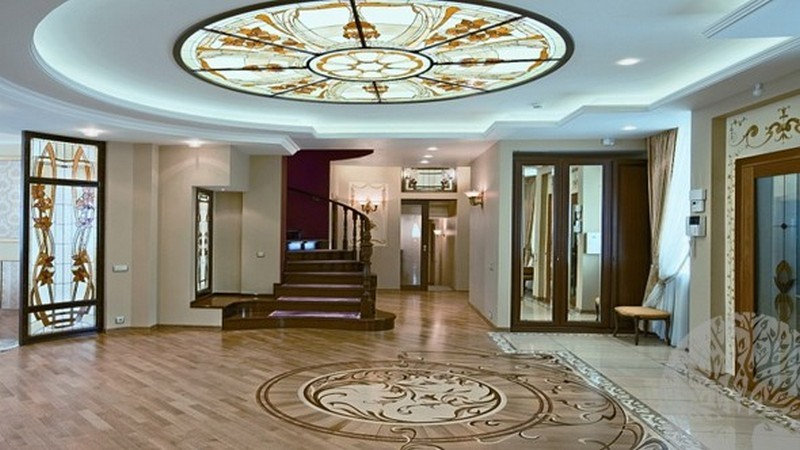 Стеклянный потолок Витражное стекло