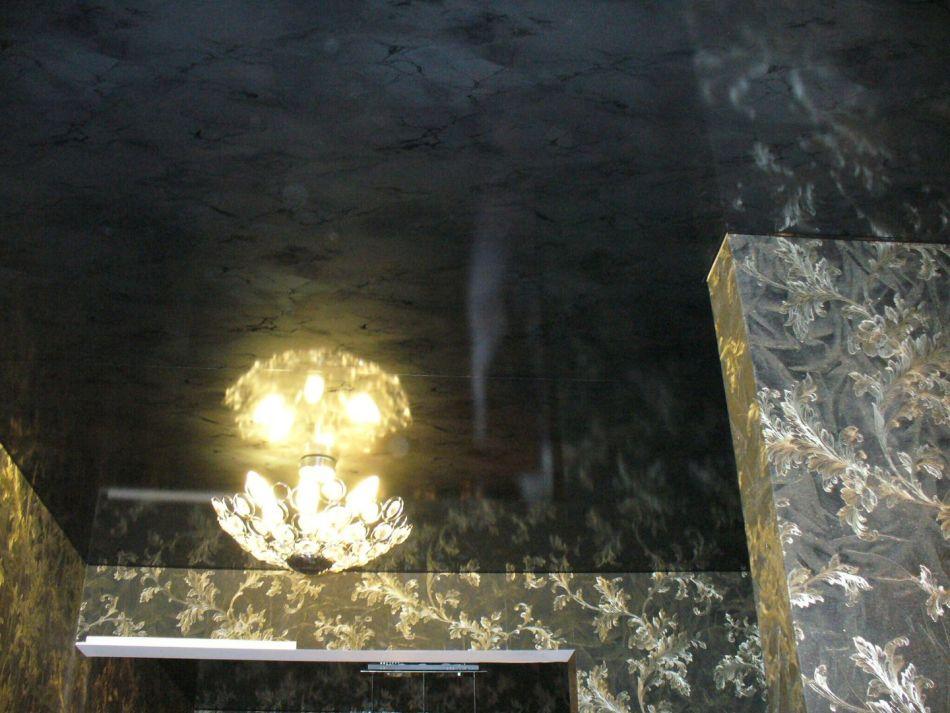 Фото фактурных натяжных потолков