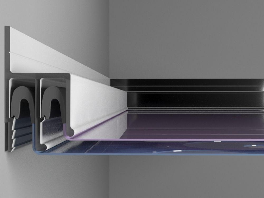 3D профили резного потолка