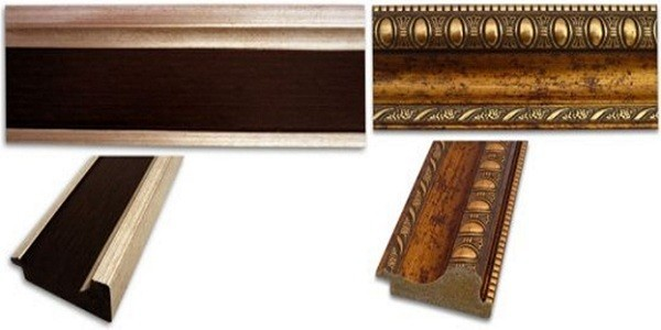 Деревянные потолочные галтели