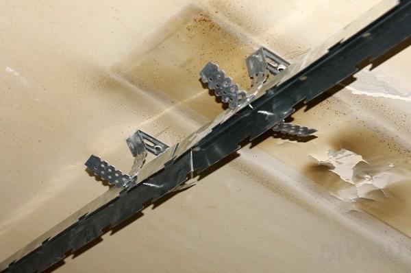 Каркас для алюминиевого реечного потолка