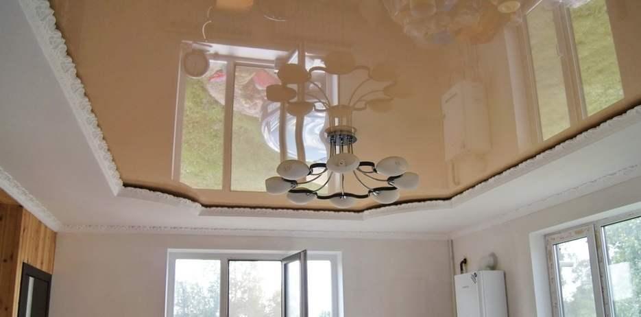 Комбинированные потолки: гипсокартон и натяжныеполотна