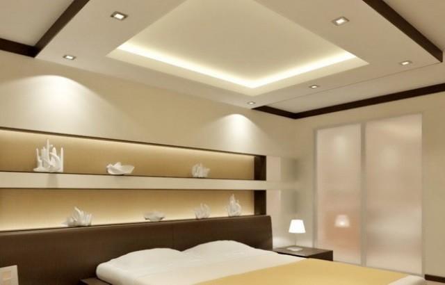 Многоуровневые конструкции на потолке