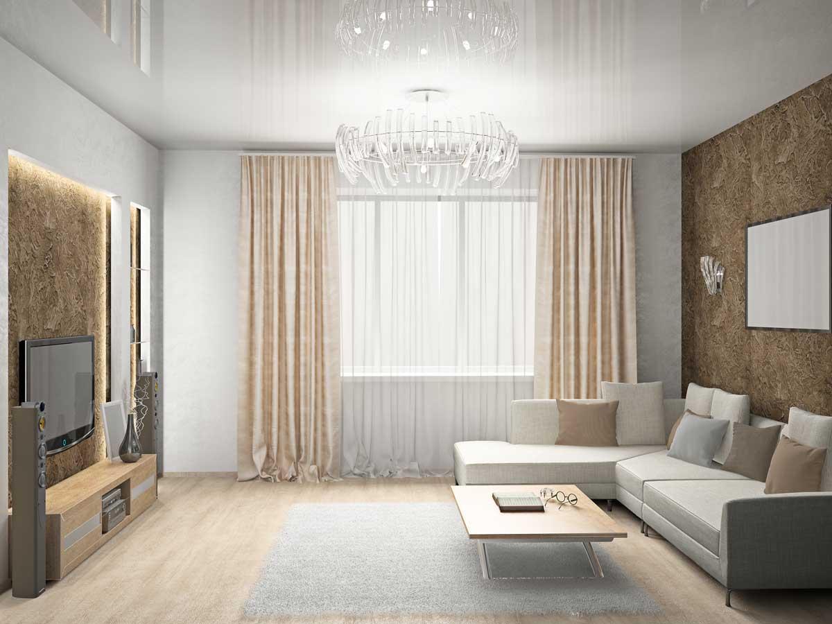 натяжные потолки фото для зала в квартире стейнмец знаменитый