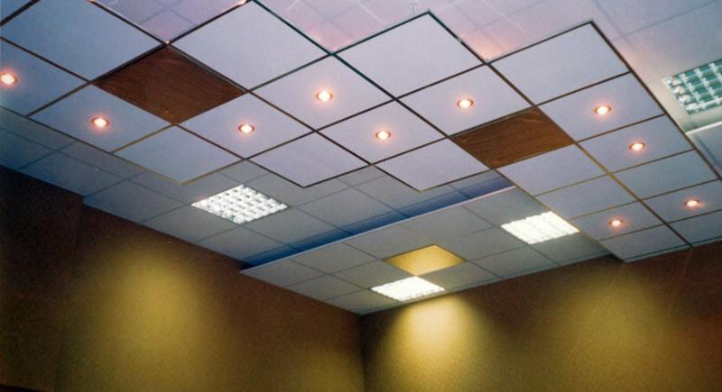 Плиточный подвесной потолок Армстронг