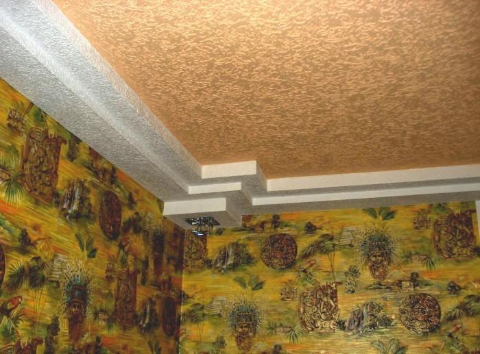Декоративная отделка потолков - современные способы преображения
