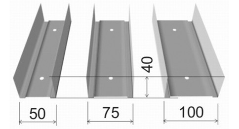 ПрофильUW(ПН) – для создания перегородок